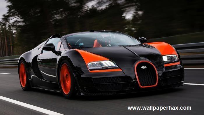 Black Bugatti-Veyron 3D Wallpaper | Bugatti cars, Bugatti ...