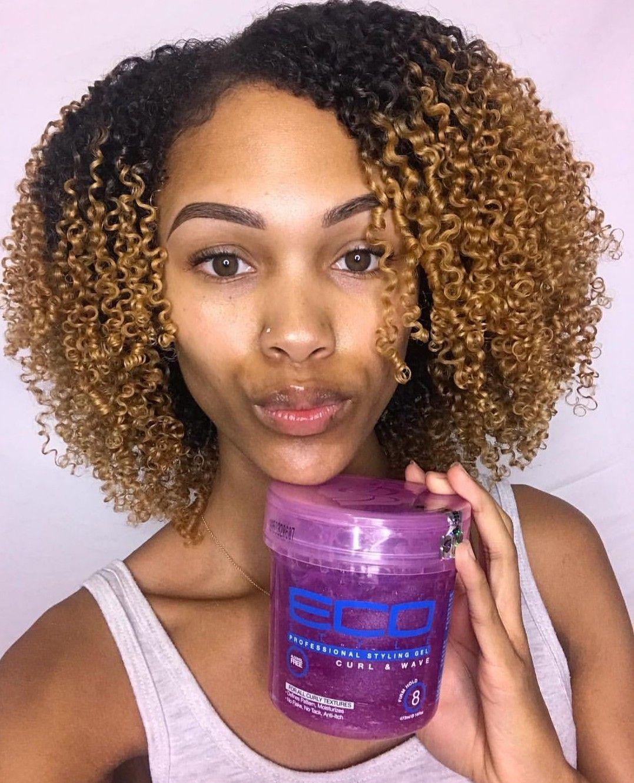 3c 4a Wash N Go Using Eco Styler Gel Hairgoals Natural Curls Hairstyles Gel Curly Hair Natural Hair Styles