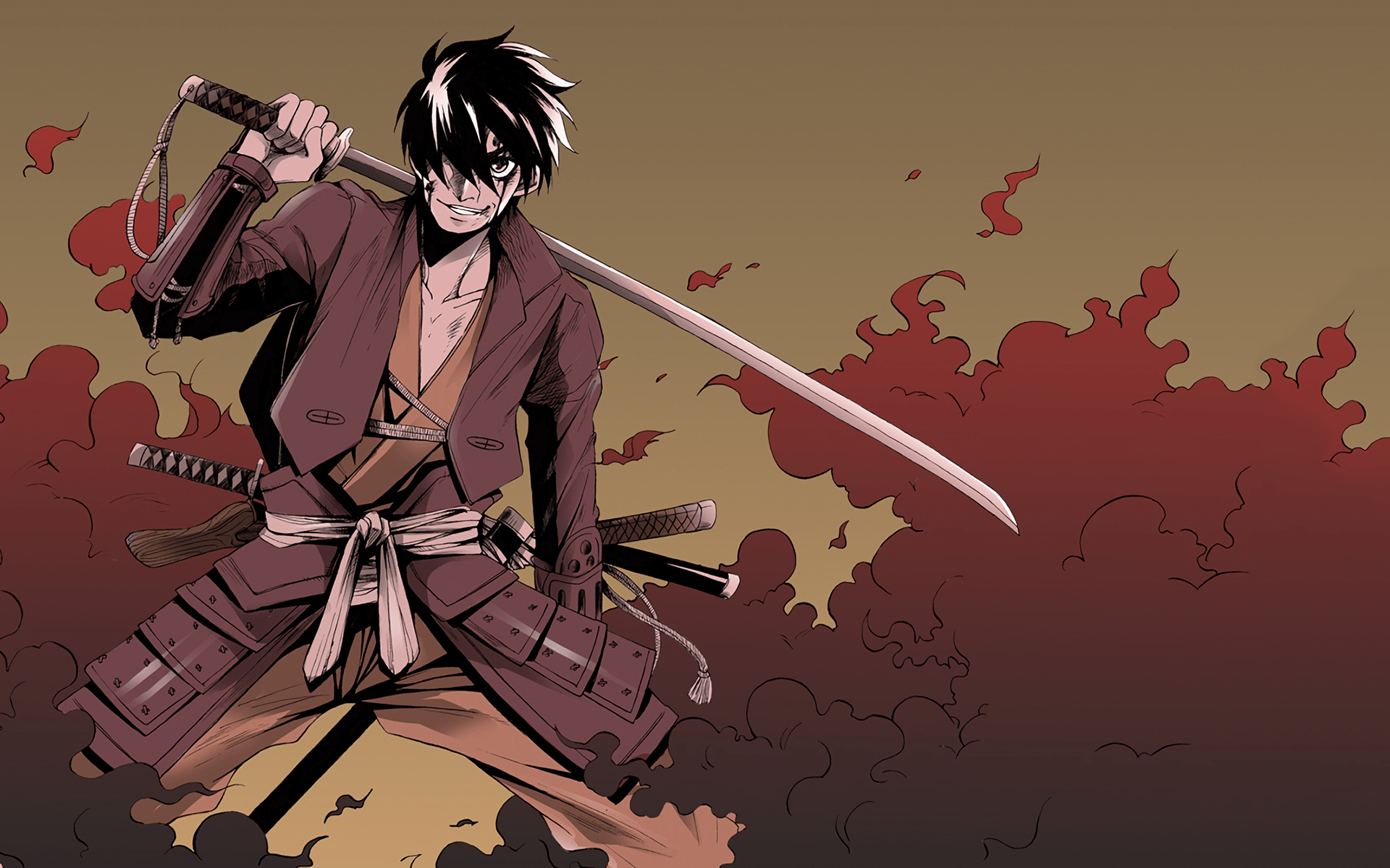 Badass Anime Wallpaper HD Drifters 1920x1200