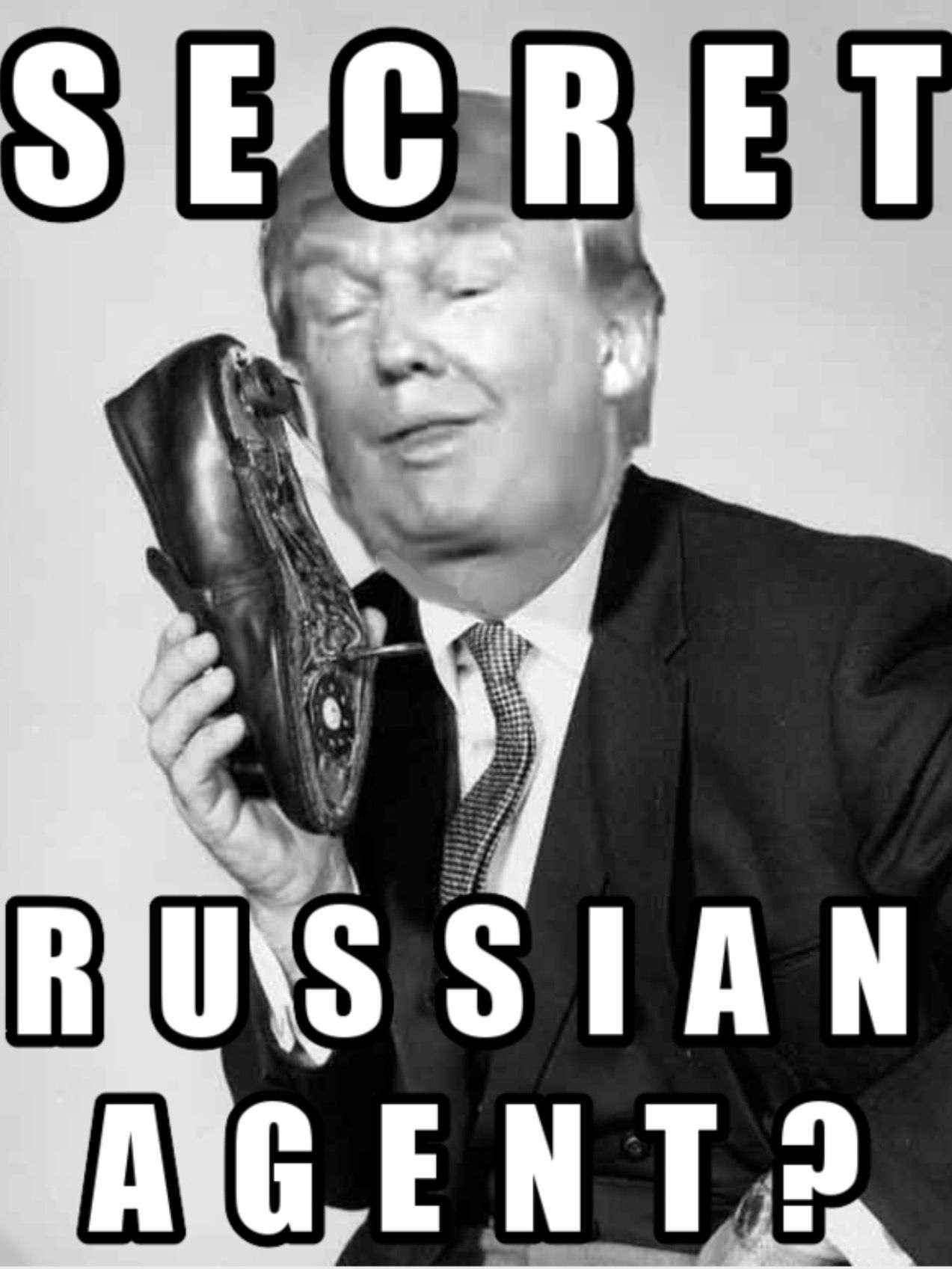 He\'s too stupid to be a Russian agent. Him and his family are just ...