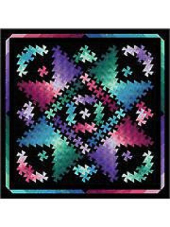 Twister Shimmer Quilt Moments Quilting Sewing Pattern Twister M Foreman | eBay