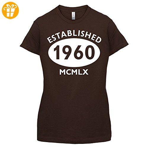 Gegrundet 1960 Romische Ziffern 57 Geburtstag Damen T Shirt