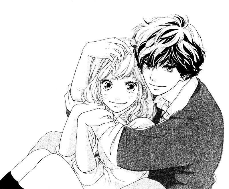 Futaba and kou ao haru ride ao haru ride kou blue springs ride futaba yoshioka - Dessin manga couple ...