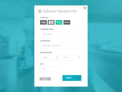 Payment Info Form  Ui Design