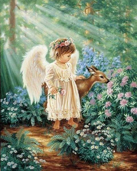 An Angels Blessing Dona Gelsinger (American)