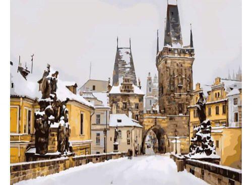 Картина по номерам «Карлов мост зимой. Прага» | Прага ...