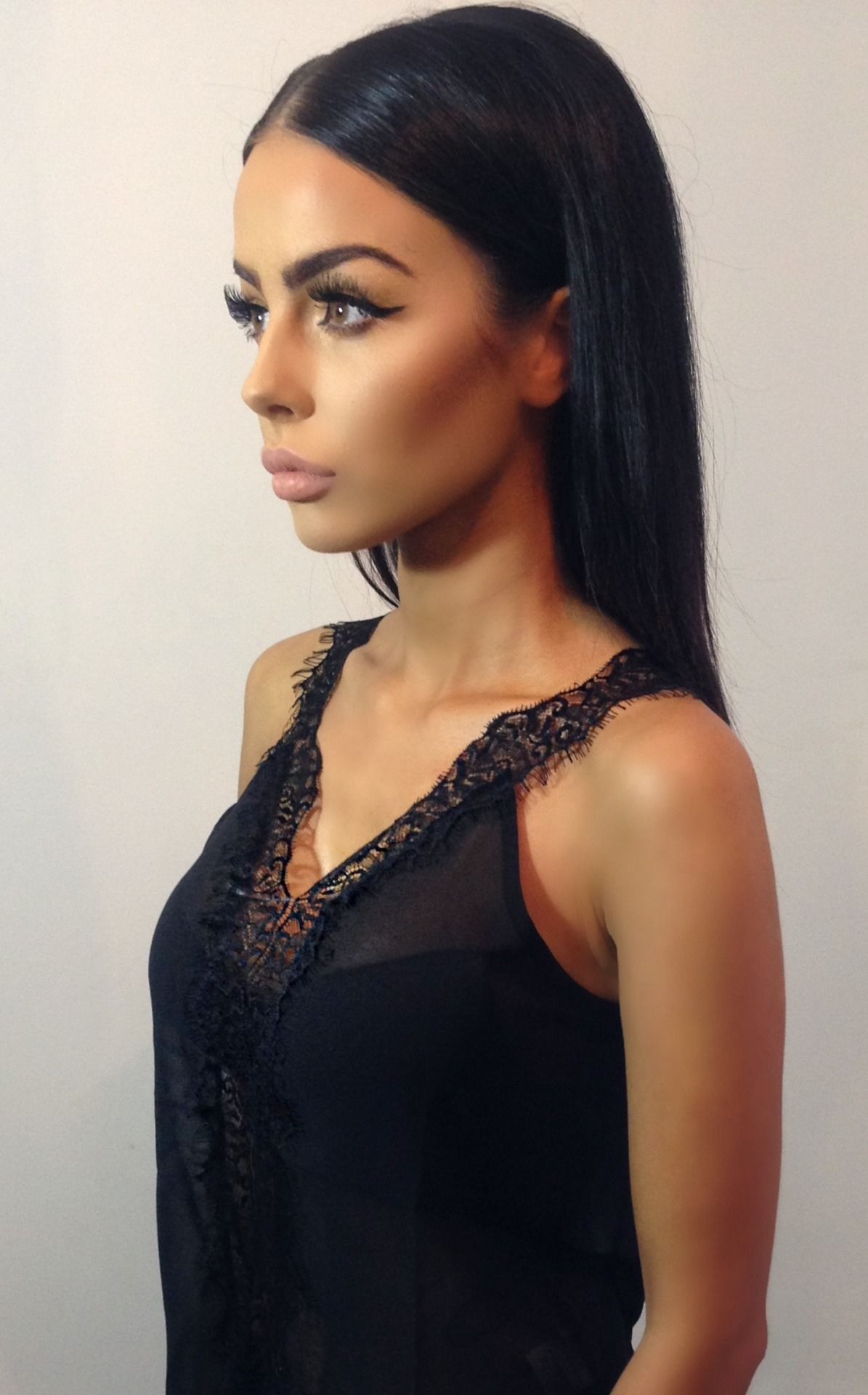 Long glam sleek hairstyles for women exclusive photo