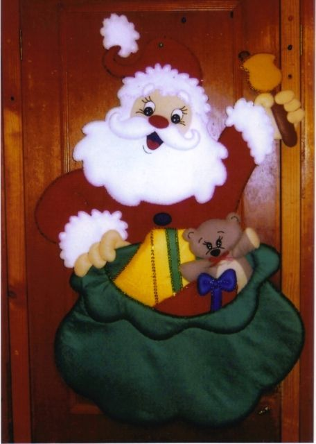 Christmas Crafts Santa Toilet Seat Covers Out Of Felt