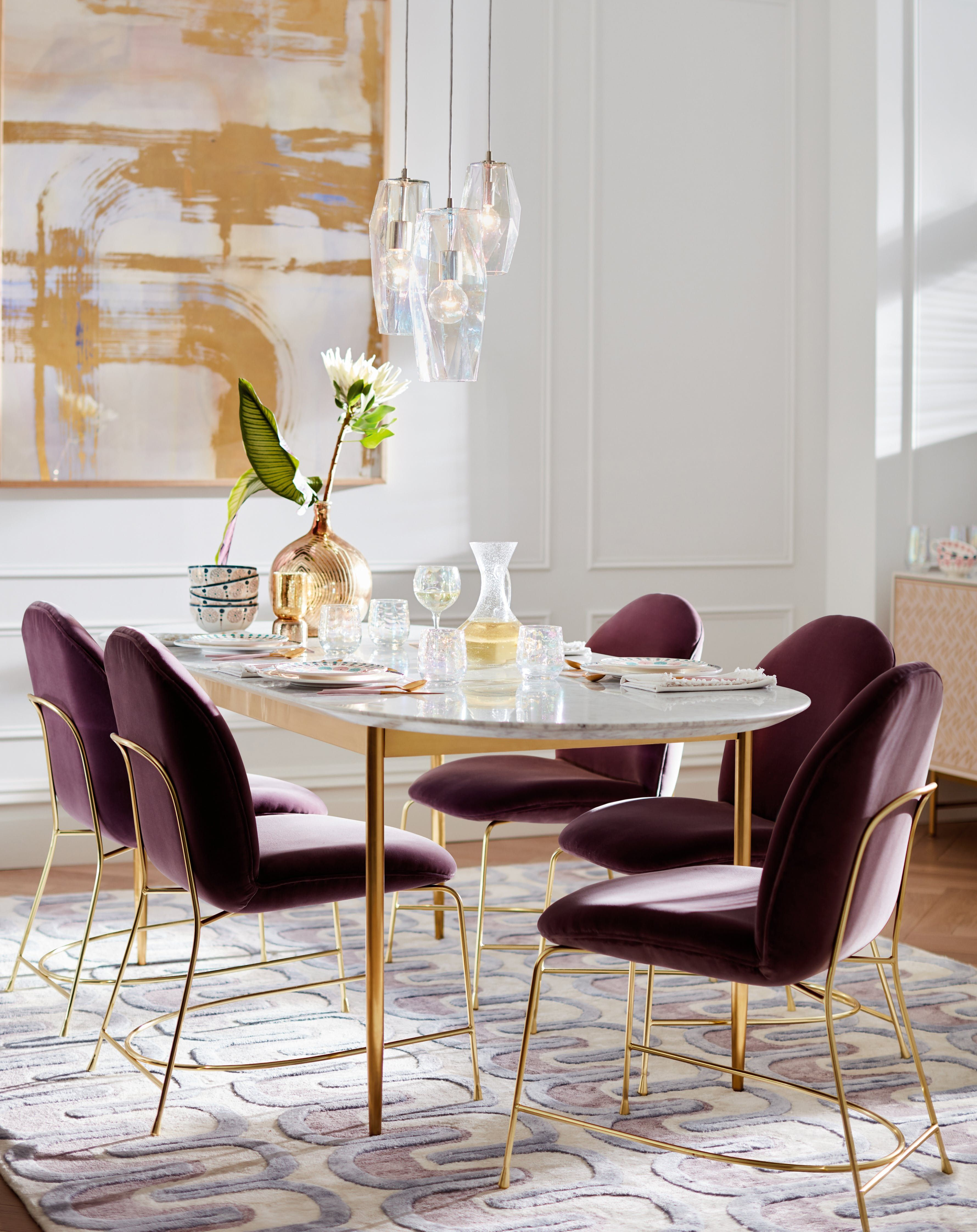 What To Buy From Anthropologie S Fall 2018 Home Collection Modern Dining Table Dining Room Small Dining Room Decor