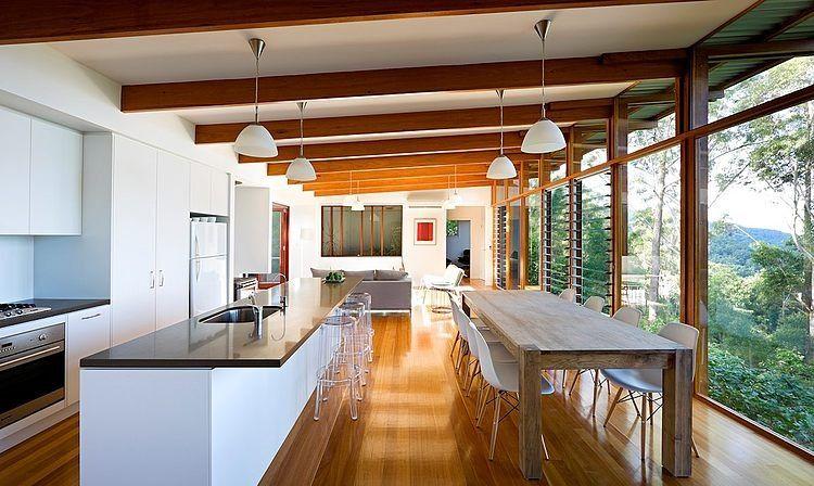 Eco friendly maison contemporaine en Australie | La chaleur, Le ...