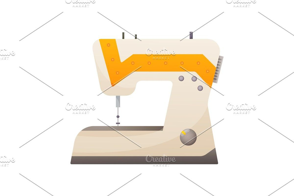 Vector Sewing Tool For Needlework