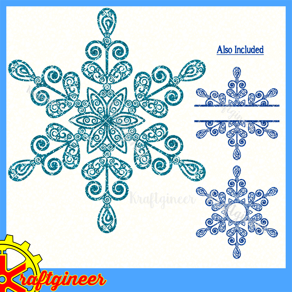 Swirly Snowflake Quilling, Snowflakes, Cricut