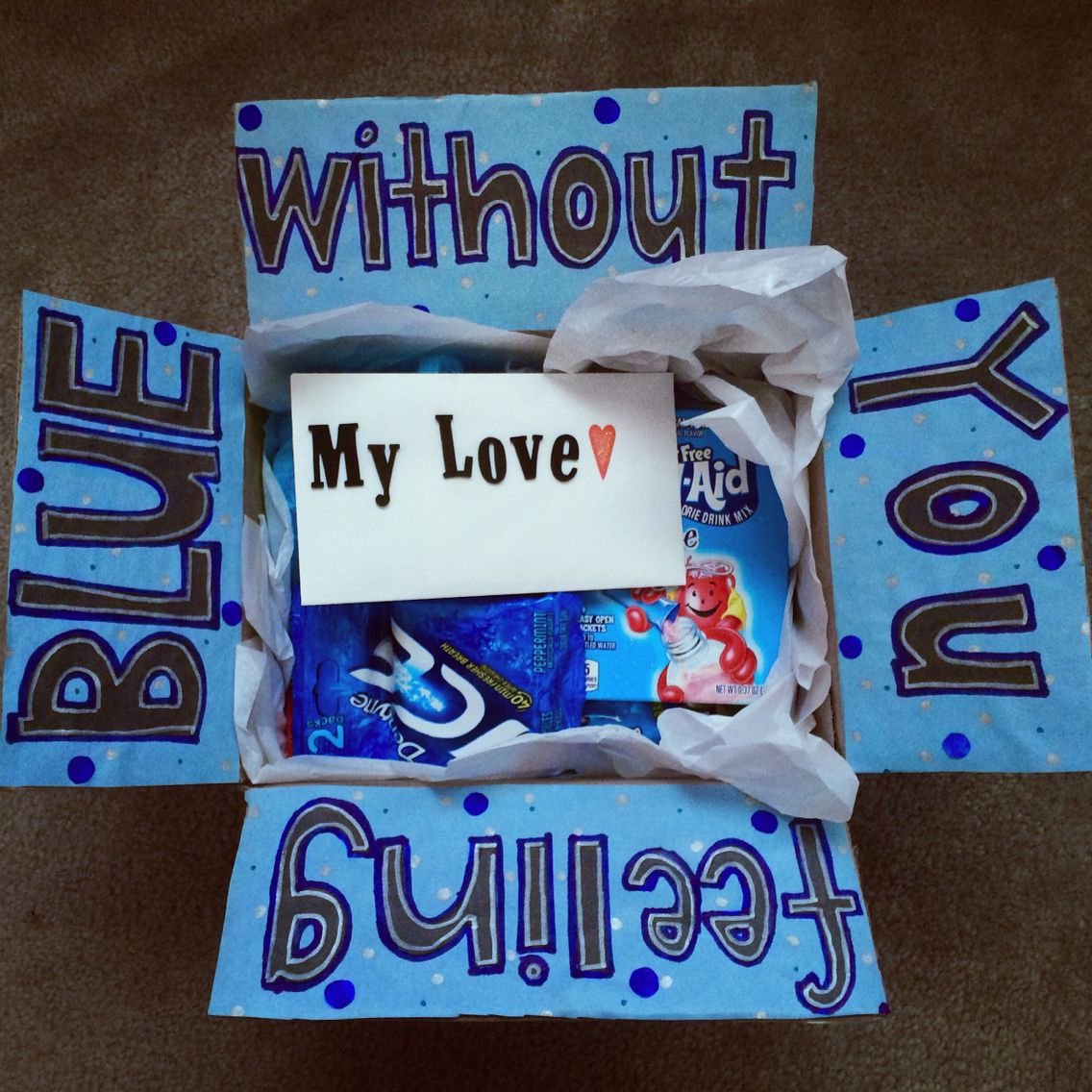 Feeling blue without you military deployment package ...