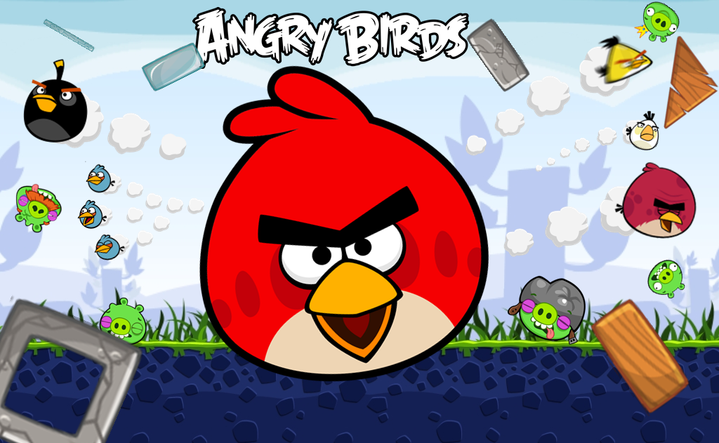 Angry Bird Wallpapers Wallpaper Cave Best Games Wallpapers