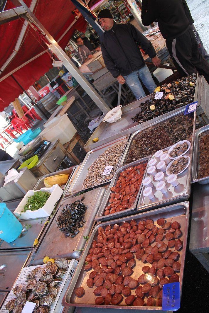 Fish Market in Catania, Sicily Sicilian recipes, Sicily