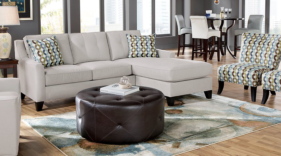 Contemporary Living Room Set In Black Red Or Cappuccino: Affordable Living Room Sets For Sale: Formal, Contemporary