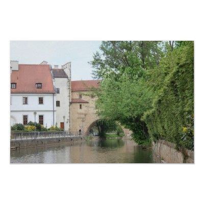 Amberg in Upper Palatia is a beautiful small town in Bavaria with lots of medieval buildings