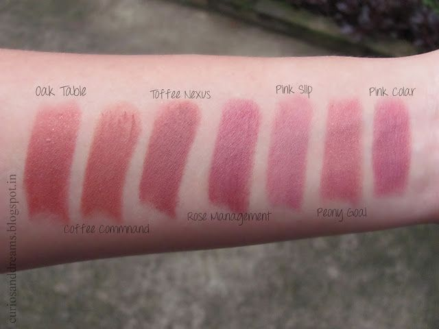 6 New Lakme Absolute Matte Lipstick Shades Swatches Lipstick