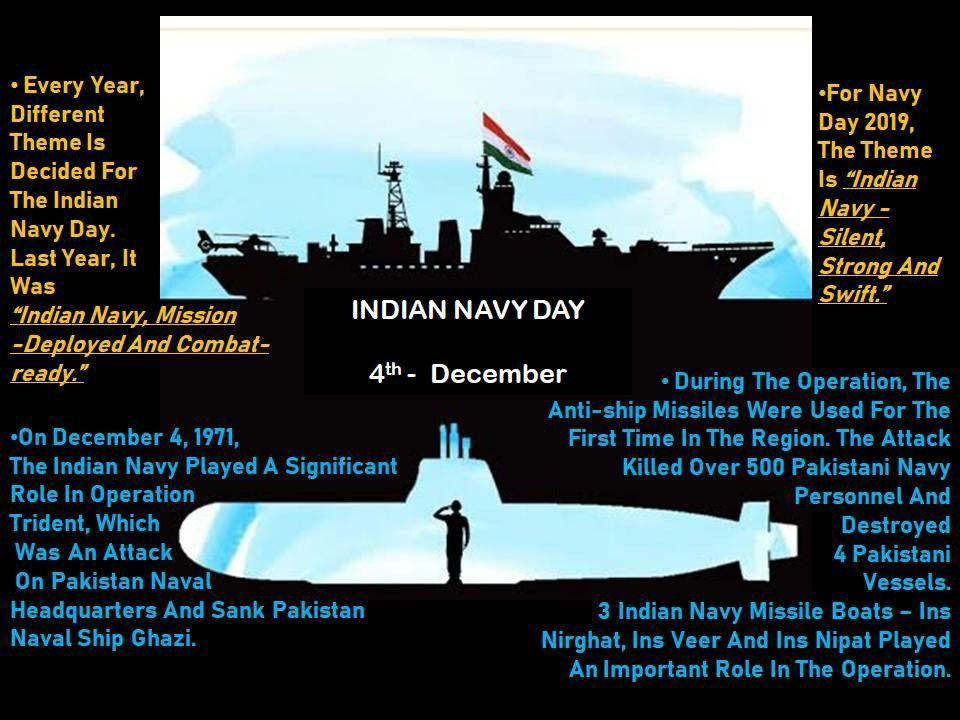 Indian Navy Day 2019 Indian Navy Day Navy Day Indian Navy