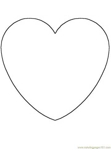 Free Coloring Pages Of Face Shapes Shape Coloring Pages Heart Coloring Pages Preschool Coloring Pages
