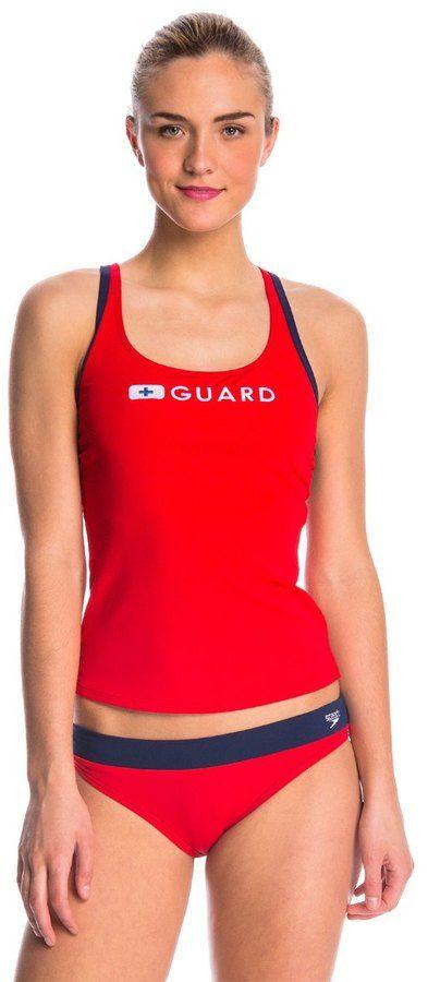 b03f594810 Speedo Lifeguard Tankini Top 42260   Products   Tankini top, Tankini ...