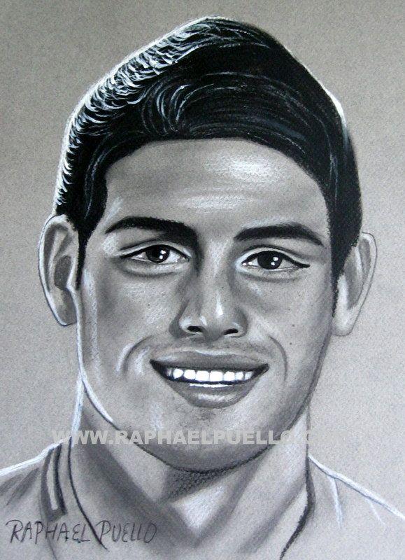 James Rodríguez Lápiz Wwwraphaelpuellocom Artistic Drawing