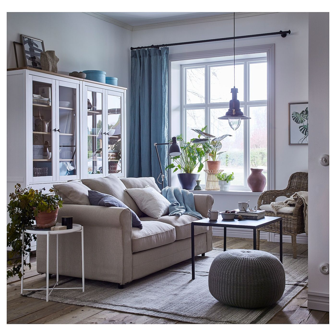Ikea 2er Sofa Grau