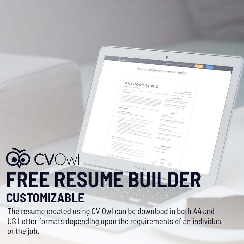 Create Your Free Resume Now Httpscvowlresume Writing