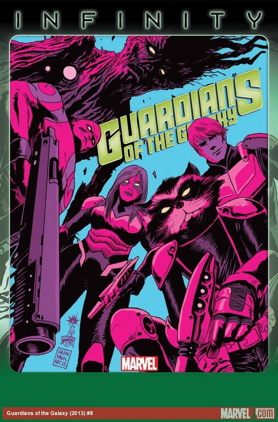 Francavilla Joins GUARDIANS OF THE GALAXY In Time for INFINITY | Newsarama.com