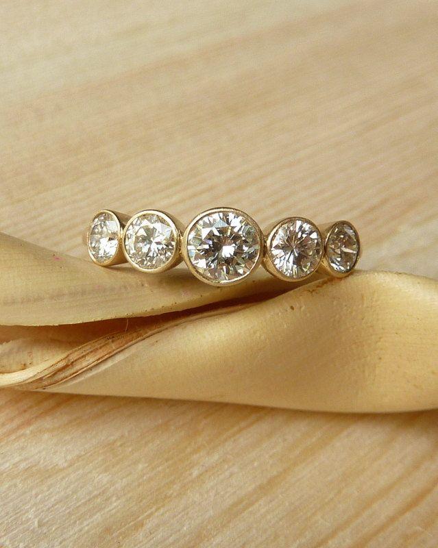 Classique Brillant Rond Cut White Topaz Boucles d/'oreille argent//or Mariage Bijoux