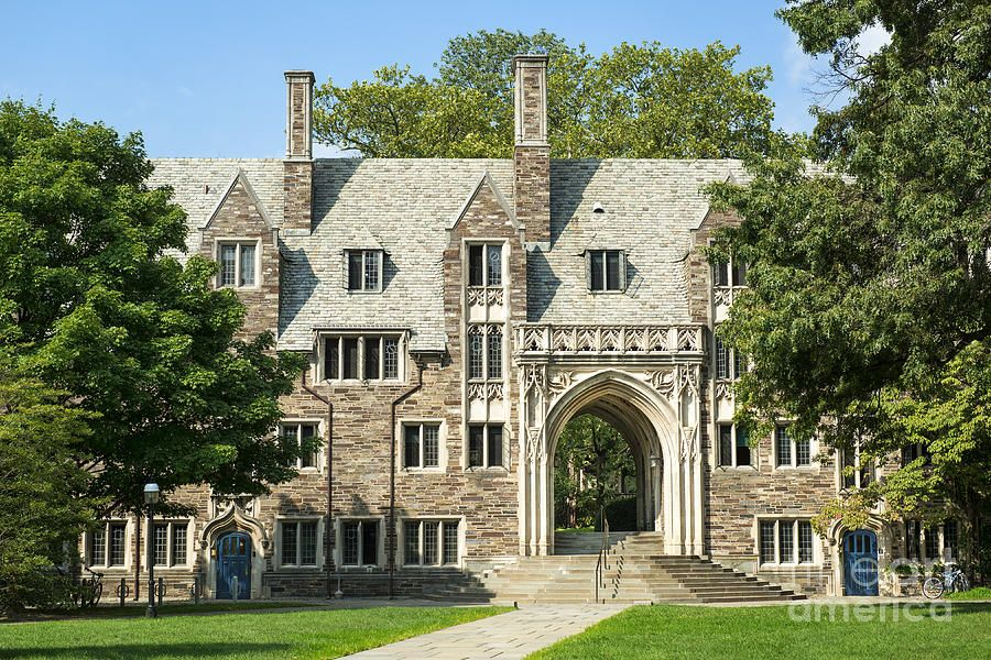Lockhart Hall Princeton Photograph Lockhart Hall Princeton Fine Art Print College Costs Financial Aid For College Grants For College