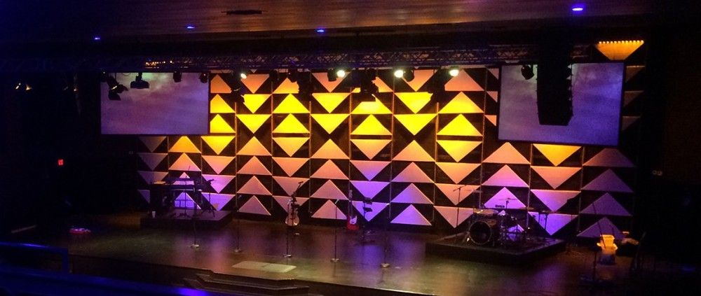 Up Or Down Stage Design With Images Stage Design Church Stage Design Stage Lighting Design
