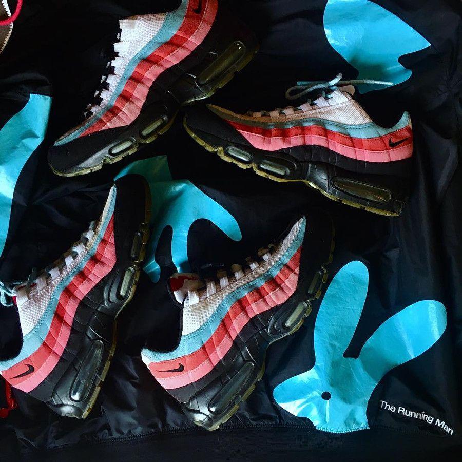 La Parra x Nike Air Max 95 QS The Running Man : qui se