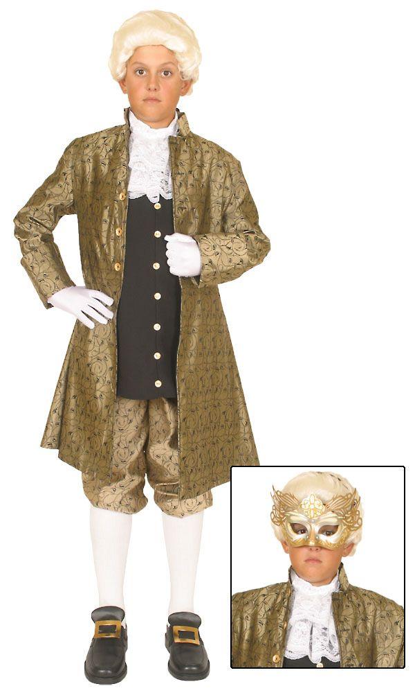 Mozart Classical Composer Kids Costume