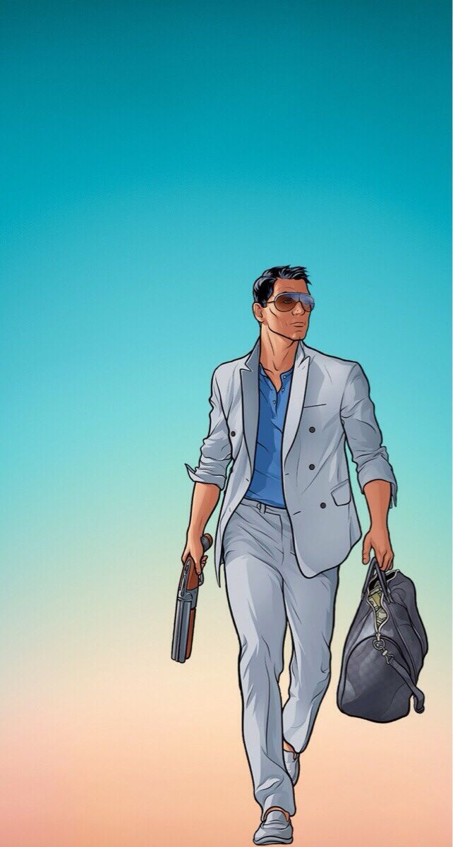 A Few Phone Wallpapers I Love Archer Tv Show Feature Wallpaper Phone Wallpaper
