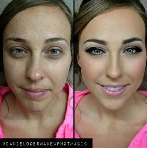 Before And After Makeup It S Amazing What It Can Do Contour