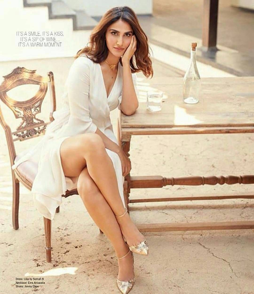 Sexy legs! Vaani Kapoor looks extremely gorgeous in her recent photoshoot.  @filmywave #
