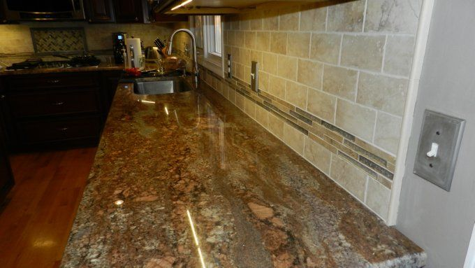 Black Pearl Granite Countertop White Cabinets Google Search Our Kitchen Pinterest