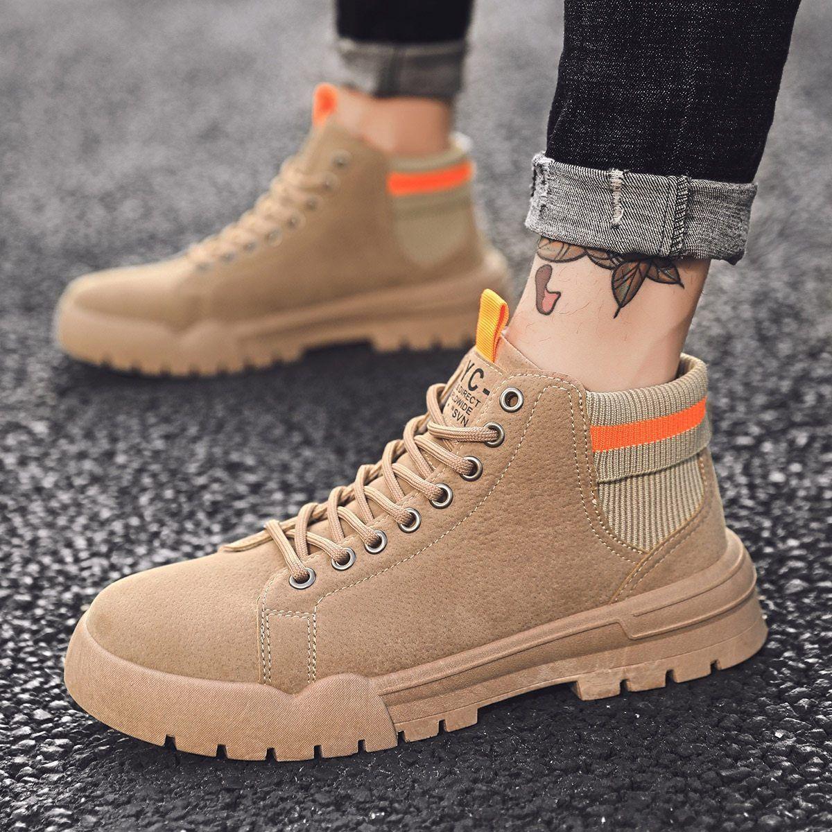 Fashion Plus Cotton Martin Boots Men