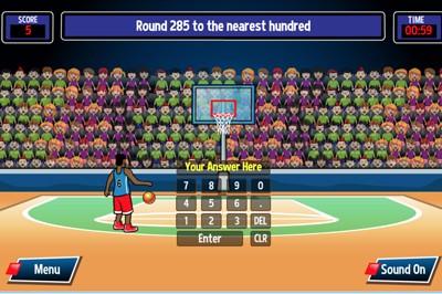 Mr Nussbaum Half Court Rounding Online Game Rounding Games Rounding Online Games
