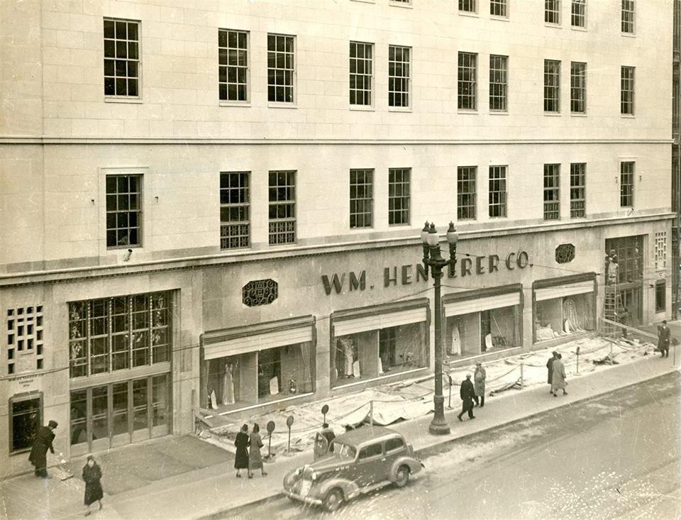 Hengerer S Dept Store 1937 Buffalo New York Buffalo Ny