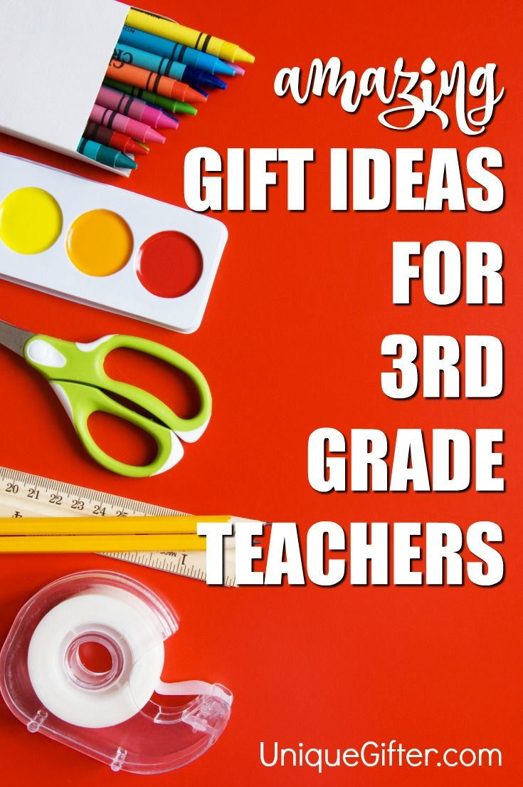 20 Gift Ideas For 3rd Grade Teachers Education Teacher Gifts