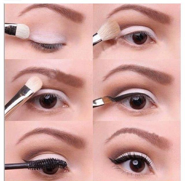 Simple Cat Eye Makeup