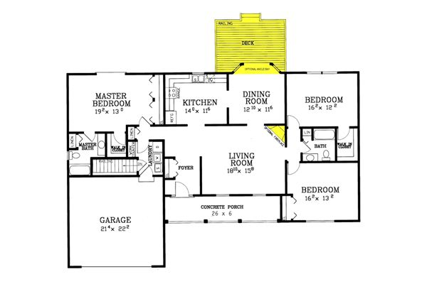 Northport Ranch House Plans