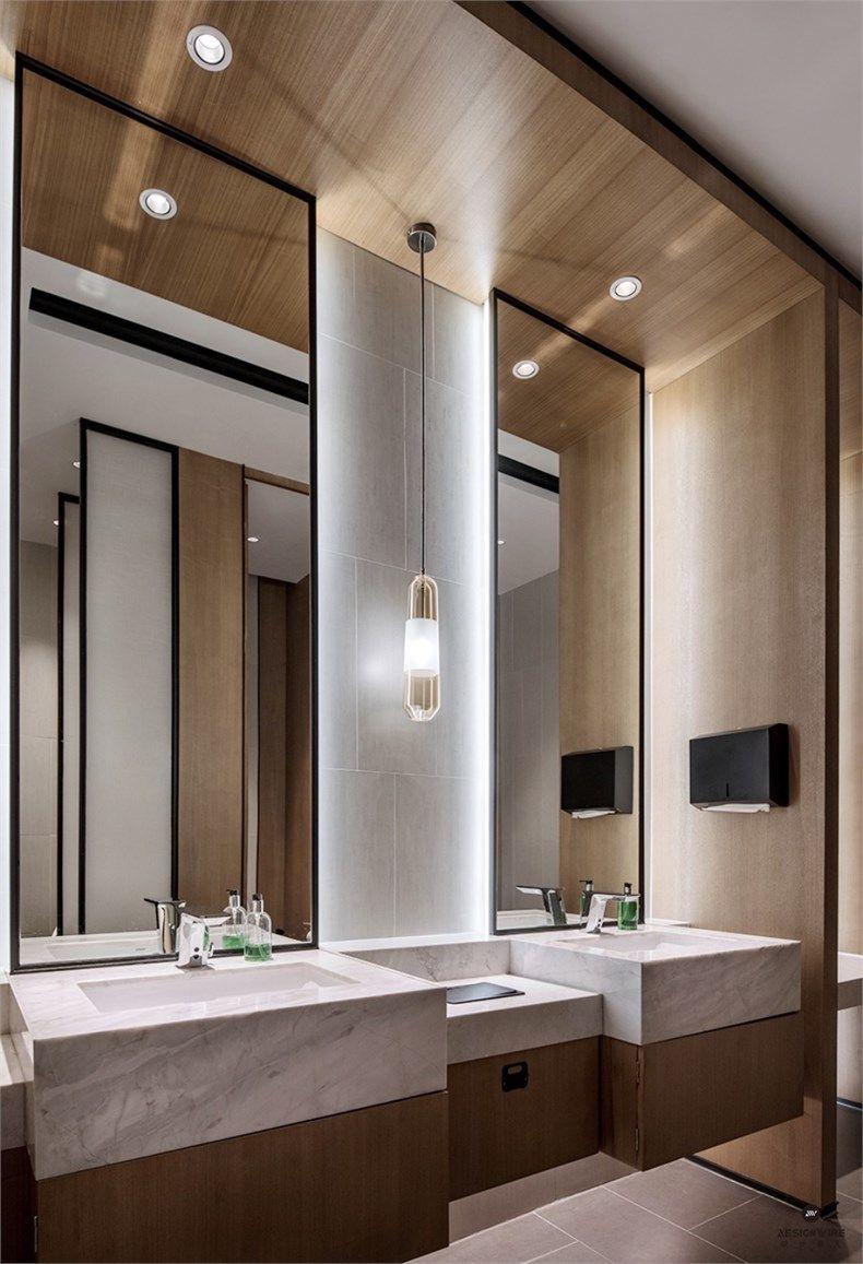 Hotel Bathroom Layout