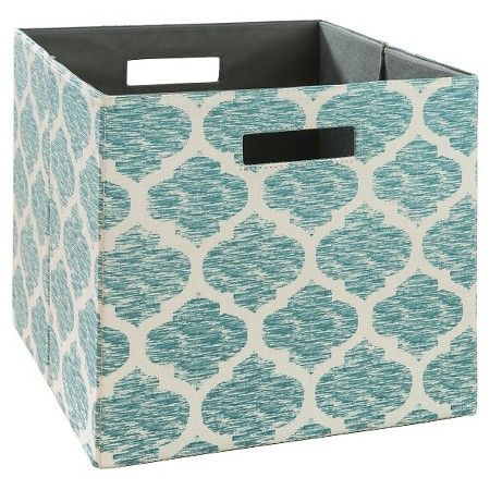 Fabric Cube Storage Bin 13 Threshold Cube Storage Cube Storage Bins Fabric Storage Bins