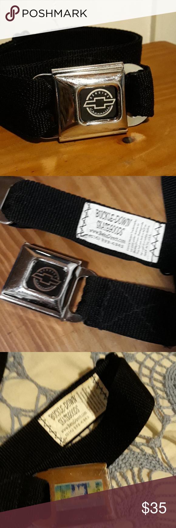 Original 1990 Chevrolet seat belt belt Original 1990 Chevy