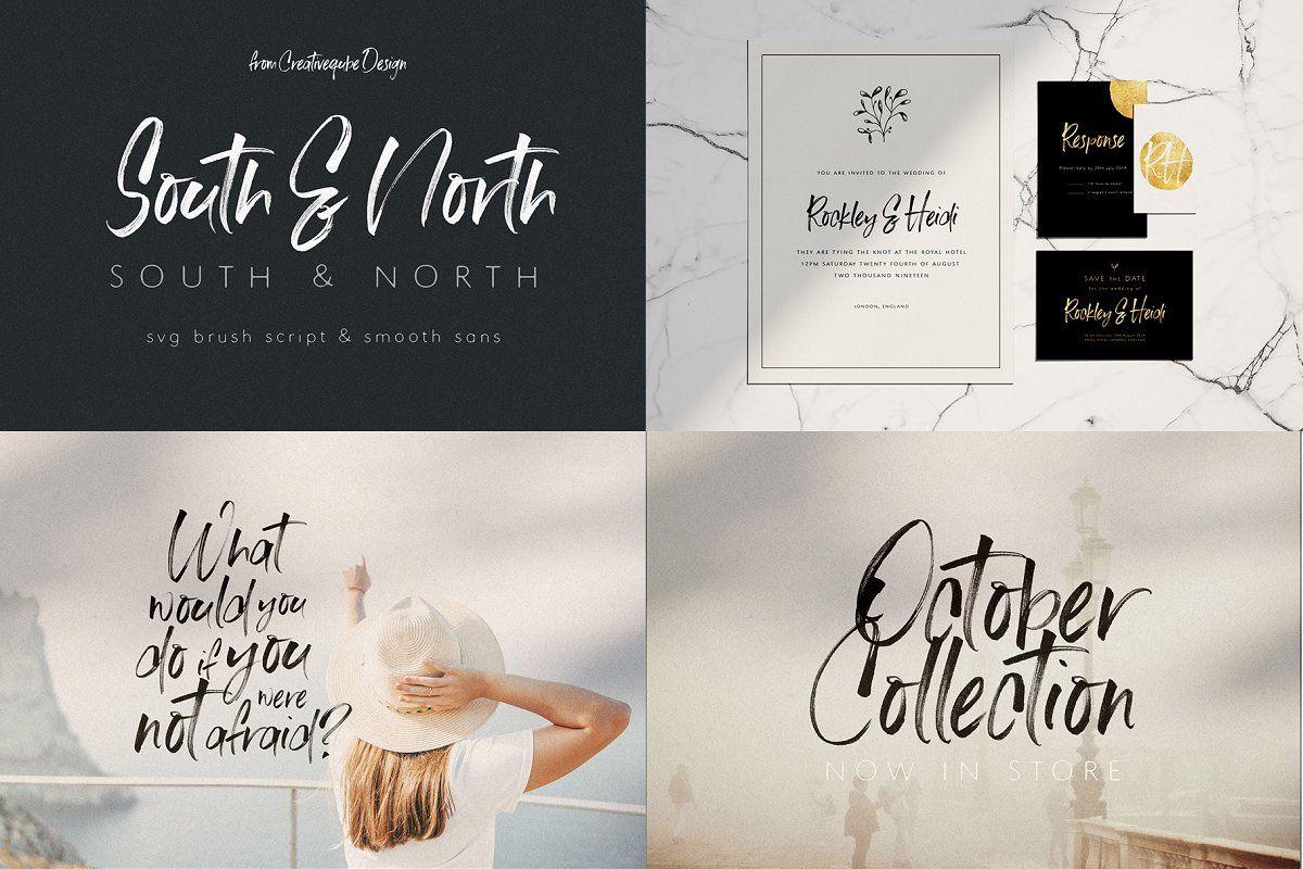 New Font Bundle By Creativeqube New Fonts Font Bundles Logo Templates