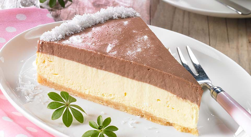 Schoko Vanille Torte Rezeptdetails Brunch Backen Pinterest