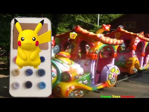 Pika-Pika-Chu Song Pokémon Animation at Countryside Real Animals Frozen 侍 Disney…